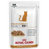 Royal Canin Senior Consult Stage-1 Для котов и кошек старше 7 лет, не имеющих видимых признаков старения - 100 гр х 12 шт.