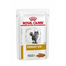 Royal Canin Urinary S/O кусочки в соусе для взрослых кошек при МКБ с курицей 85 гр х 12 шт.