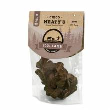 Chicopee Meaty's Lamb беззерновое мясное лакомство для собак с ягненком - 80 г