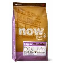NOW! Fresh Grain Free Senior Cat Recipe сбалансированный холистик корм из филе индейки и утки для взрослых кошек склонных к полноте 1,82 кг (3,63 кг) (7,26 кг)