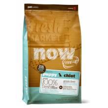 Now Fresh Puppy Large Breed Recipe Grain Free беззерновой корм для щенков крупных пород с индейкой, уткой и овощами 5,45 кг (11,35 кг)