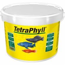 Корм Tetra Phyll для всех видов рыб растительные хлопья - 10 л (ведро)
